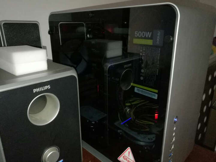 乔思伯(JONSBO)UMX3侧透版本 黑色 MINI-MATX机箱(支持MATX主板/全铝外壳/ATX电源/5.0厚度钢化玻璃侧板) 晒单图