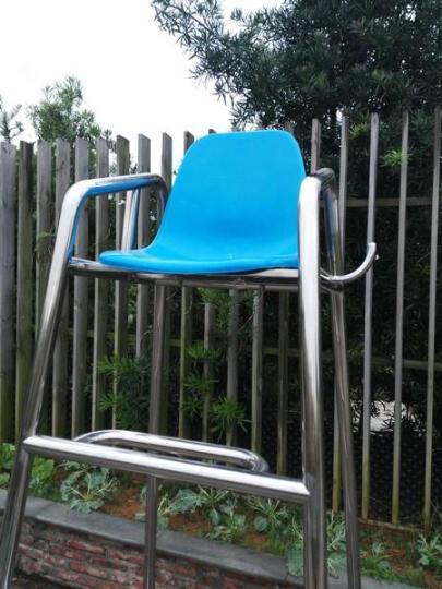 游泳池救生椅救生员椅子游泳馆观察台裁判椅了望台304不锈钢包邮 救生椅座板(不含椅身) 晒单图