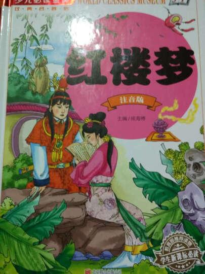 四大名著青少儿童版彩图注音少儿读物童书7-10-11-14岁水浒传三国演义西游记学生版读物 晒单图