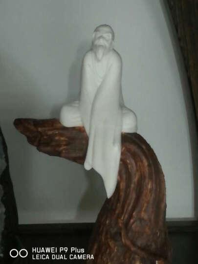 东方泥土 德化陶瓷器创意雕塑艺术收藏品白瓷中式现代家居客厅装饰特色礼品人物小摆件/高松行思 晒单图
