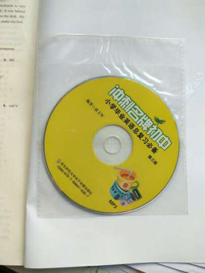 冲刺名牌初中:小学毕业英语总复习必备(第3版) 晒单图