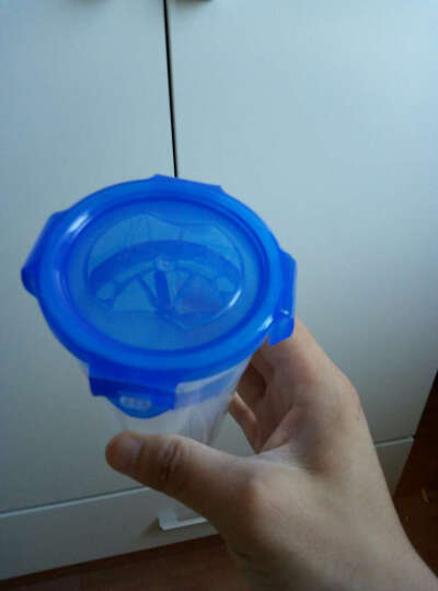 乐扣乐扣(LOCK&LOCK) 水杯小摇摇杯儿童水壶 防漏茶杯子HPL931H470ml 晒单图