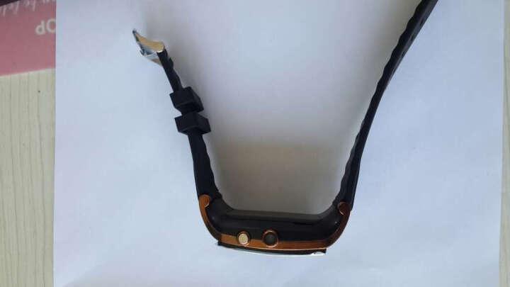 喜越 L020 智能手表男女通用蓝牙插卡儿童电话手表手机兼容三星摄影录音上网单独苹果 银色+血压手环 晒单图