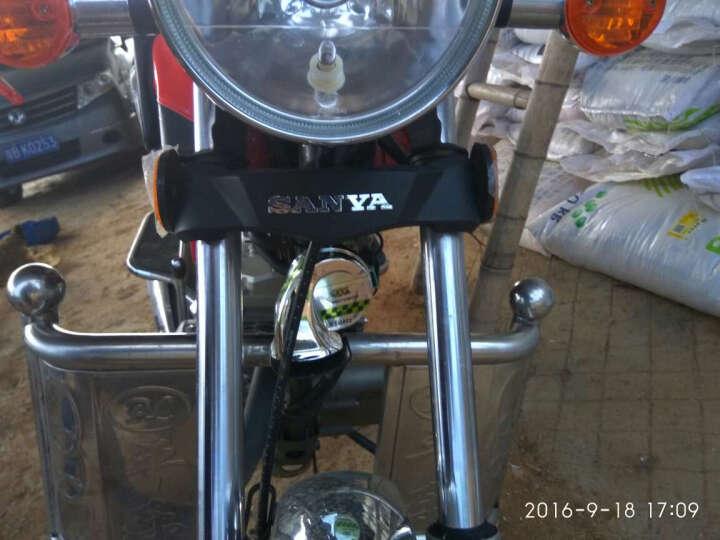 MOTOWOLF摩托车配件 摩托车喇叭 蜗牛喇叭改装配件 12v汽车电动车高音喇叭防水 白色 晒单图
