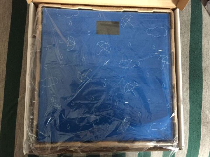 山鹰 SYE-903H-T6 电子秤人体秤电子称体重秤家用(抽象艺术) 晒单图