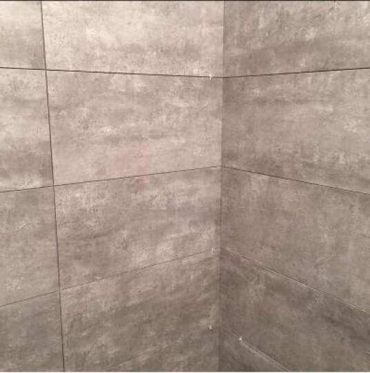 简非瓷砖 地砖水泥砖灰色LOFT地板砖仿古砖背景墙防滑墙砖文化砖 JD66086 600*600 晒单图