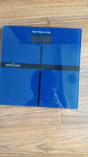 体重秤千选家用超精准电子称人体称重减肥称健康秤成人测体重秤计电子秤厨房称 深邃宝石蓝 晒单图
