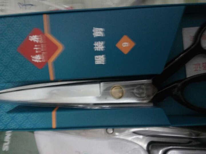 张小泉10寸锰钢复合服装剪刀 裁缝剪刀PC-10 晒单图