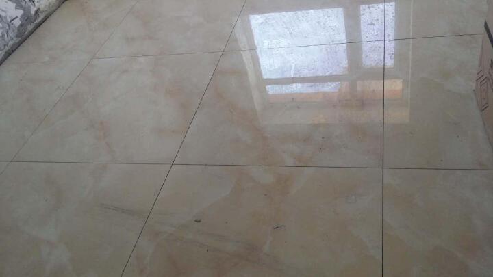 东鹏瓷砖客厅地砖卧室大地板砖全抛釉砖臻皇玉磁砖现代简约 EFG20002 800*800 晒单图