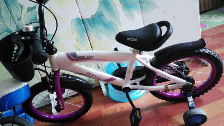 赛利迪 儿童自行车男女宝宝12寸14寸16寸单车3岁5岁7岁9岁带辅助轮小孩山地脚踏车 火焰红 12寸 适合身高85-105cm 晒单图