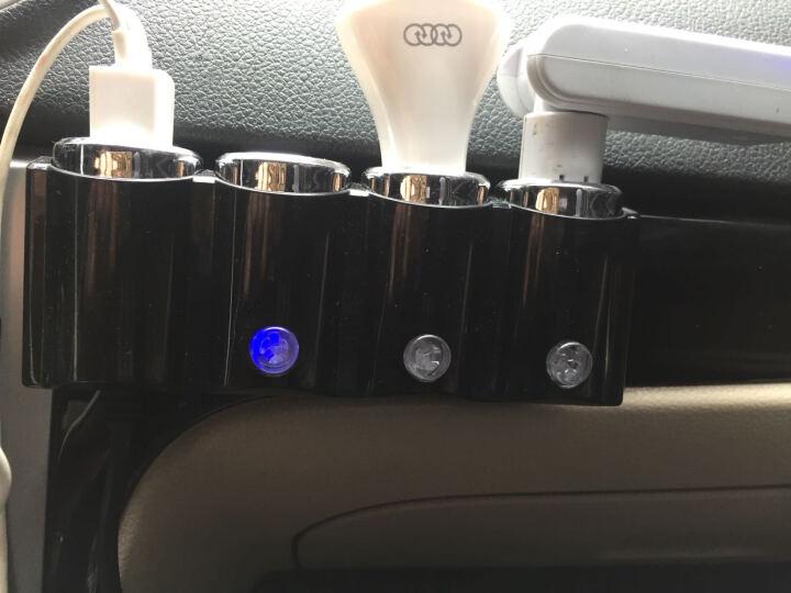 启捷 车载充电器 双USB插接口一拖二一拖三点烟器大众奥迪宝马奔驰路虎福特昂科威汉兰达凌志 汽车用品 一拖三双USB款 大众高尔夫7途昂帕萨特途安凌渡迈腾速腾朗逸途观 晒单图