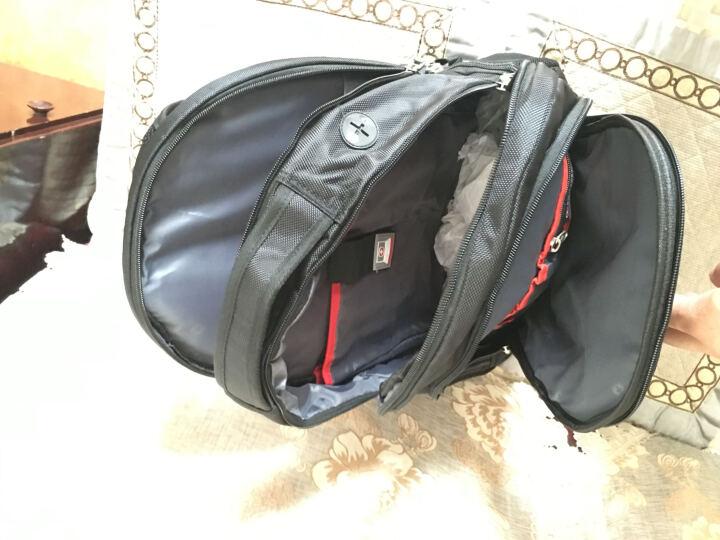 SWISSGEAR双肩包书包 防水面料商务休闲双肩背包笔记本电脑包15.6英寸 SA-9360III黑色 晒单图