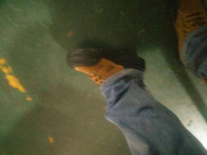 劳瑞安劳保鞋男工作鞋防砸防刺穿安全鞋钢包头透气防护耐磨工地鞋轻便防臭电焊男士老保时尚休闲登山鞋 A款 橄榄色防砸防刺--登山鞋 42 晒单图