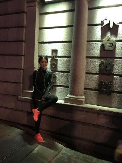 夏季新款三件套速干 跑步健身服女士三件套装 网纱罩衫透气防震背心假两件短裤防走光运动套装女 苏打绿三件套 l 晒单图