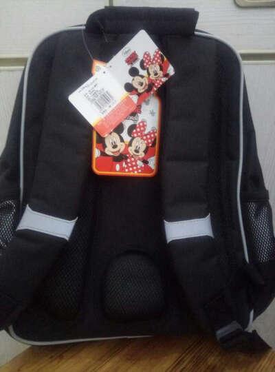 迪士尼(DISNEY)书包小学生男女儿童 卡通背包3D立体透气双肩背包 轻便大容量 11255米奇藏蓝色 晒单图
