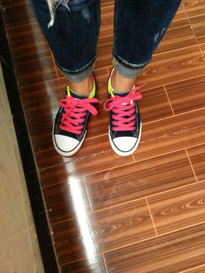 名将 春季韩版内增高学生帆布鞋女厚底低帮女式休闲鞋糖果色平底板鞋 6278 浅紫色(内增高) 37 晒单图