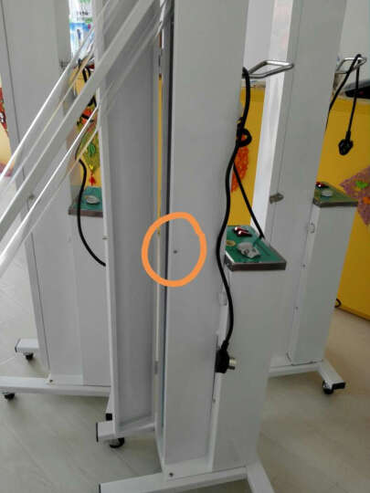 高博士(GAOBOSHI) 紫外线消毒车消毒灯医用 家用幼儿园消毒酒店紫外线杀菌灯 含2根 晒单图