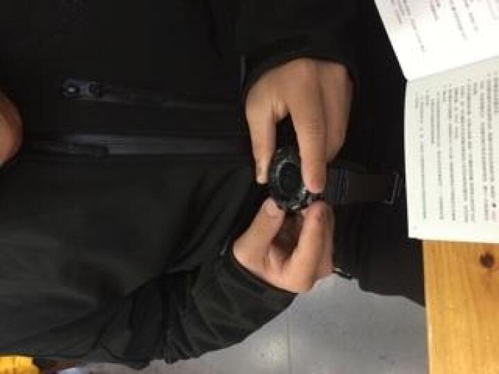 博之轮(BOZLUN) 运动手表男多功能电子表户外登山计步电子表 指南针气压计防水运动腕表 ST02 黑色(测心率) 晒单图