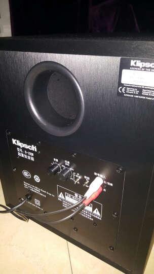 杰士(Klipsch)R-10SW低音炮10寸重低音家庭影院木质低音炮黑色2015新款 黑色 晒单图