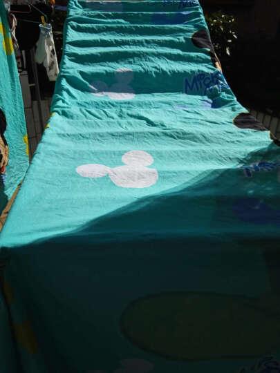 洁梦莱家纺床上用品全棉动漫卡通单人被套床单三件套活性定位大版印花纯棉儿童学生宿舍套件 依恋 被套160*210床单190*230 晒单图