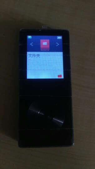 炳捷(BENJIE)  MP3金属 带外放播放器 迷你MP4学生英语随身听电子书录音歌词收音 可插卡 黑色8G+16G内存卡 晒单图