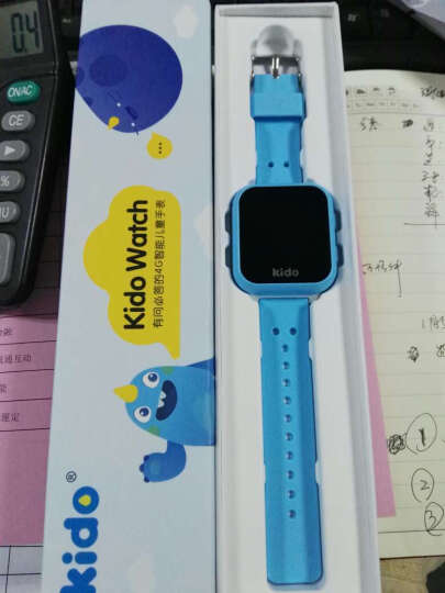 乐视 精逗Kido Watch K2 智能手表 4G智能儿童定位电话手表 蓝色 晒单图