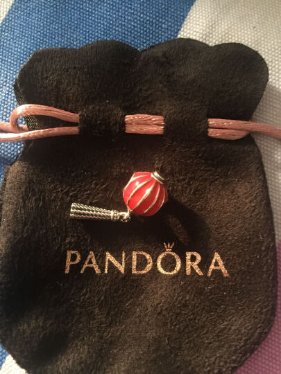 潘多拉(PANDORA)中国灯笼串珠 791299EN09 红色 晒单图
