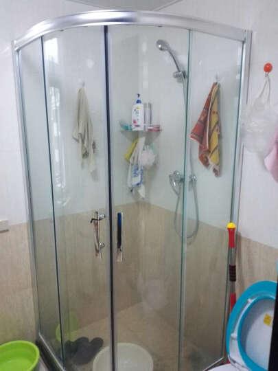 柏优(BAI YOU) 整体淋浴房定制简易浴室钢化玻璃隔断浴屏 整体浴室扇形定做淋浴房 淋浴房定金/尾款 晒单图