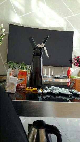 领感 奶油枪金属 鲜奶油发泡器裱花枪液氮气瓶咖啡冰淇淋制作虹吸瓶 铝制奶油枪0.5L红色 晒单图