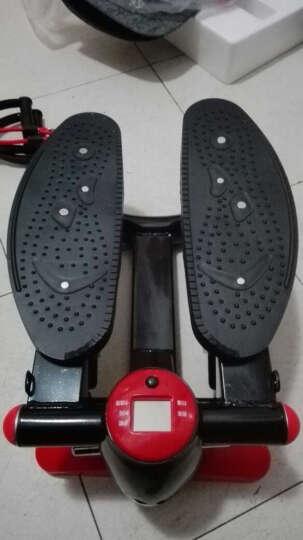 力达康 迷你多功能液压踏步机家用 静音 脚踏机健身器材 法拉利红 晒单图