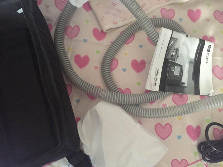 费雪派克呼吸机单水平呼吸机睡眠家用呼吸器 打鼾打呼噜呼吸机zj AUTO全自动智能调压+送消毒宝 晒单图
