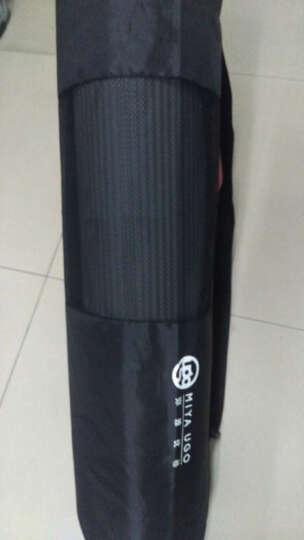 弥雅 瑜伽垫185*80cm 加长加宽加厚健身运动垫子 10mm基础款 紫色 晒单图