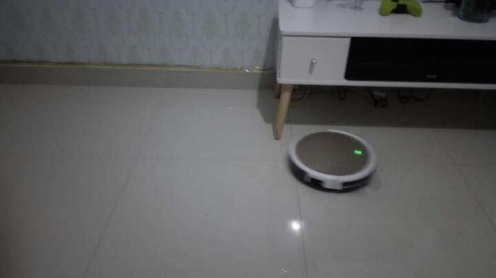 ILIFE 闪电(X430)智意智能导航规划式扫拖扫地机器人家用吸尘器全自动拖地机 香槟金 晒单图