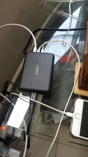 幻响(i-mu)苹果6/6s安卓二合一数据线 锌合金一体线 手机充电线 iphone5/6s/7 Plus/ipad air mini 珍珠白 晒单图