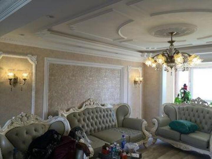 月影凯顿欧式吊灯水晶客厅灯美式餐厅灯全铜卧室灯具