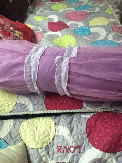 贝阳家纺 全棉蕾丝抱枕 心形抱枕 方形抱枕 糖果抱枕 靠枕 韩版公主风枕头 玫瑰花语-大红 方形抱枕-个 晒单图