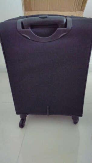 瑞士军刀威戈Wenger 20/24英寸拉杆箱 旅行箱行李箱登机箱 万向轮软箱 出差男女士 高端硬箱【22英寸】 晒单图
