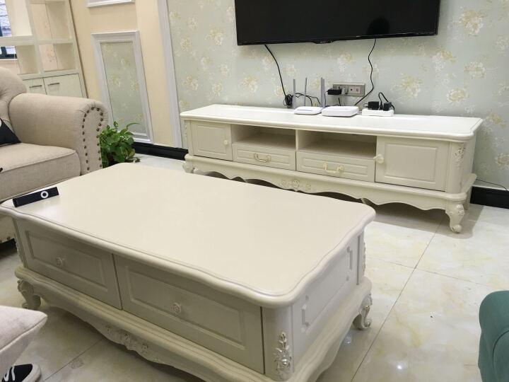 摩登生活电视柜欧式电视柜组合茶几电视柜组合象牙白 1.8米床套餐+衣柜+妆台+1.8米电视柜+沙发 晒单图