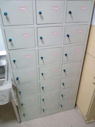 苏美特 更衣柜员工储物柜钢制带锁衣柜宿舍员工柜存包柜铁皮柜鞋柜多门柜 24门更衣柜 经济型 晒单图