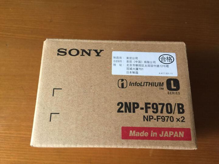 索尼(SONY) NP-F970 原装锂电池 专业摄像机电池 Z150电池 加厚大容量 晒单图