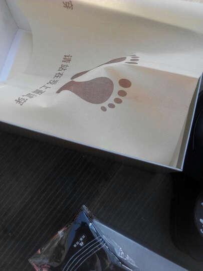 娜思图 增高鞋男鞋男士商务休闲隐形内增高6CM男鞋皮鞋 黑色增高9851 43 晒单图