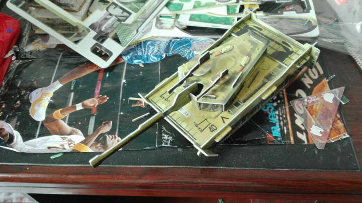 落落格3d立体拼图纸质手工DIY 儿童玩具城堡飞机模型制作拼插亲子男孩 渔政船 晒单图