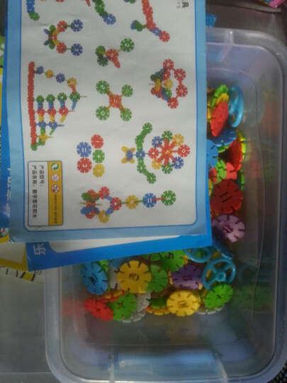 益智玩具塑料积木 幼儿乐园雪花片拼插搭构建片 儿童算数字学习 子弹积木-大箱装 晒单图