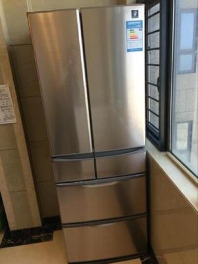 夏普(SHARP) 452L日本原装进口冰箱净离子群急速制冰热物冷冻SJ-XF47A-T 晒单图