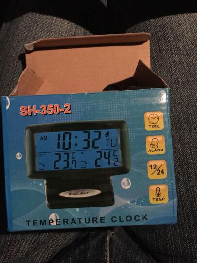卡骑仕 多功能汽车时钟 车内外双温度计 车用车载数字电子显示表 夜光电子钟 带电池 长城H6哈弗H2h1哈佛H5M4H腾翼C30C50 晒单图
