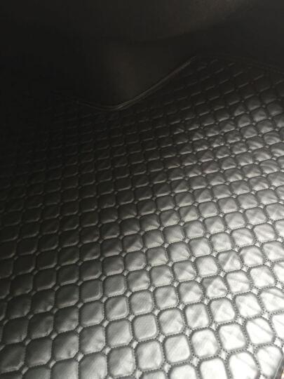 弘韵轩环保皮革后备箱垫福克斯英朗卡罗拉朗逸速腾迈腾雅阁凯美瑞君威凌渡天籁高尔夫7博瑞尾箱垫 黑色黑线 奥迪a1 A3 A5 A4L a6l Q3 Q5 晒单图