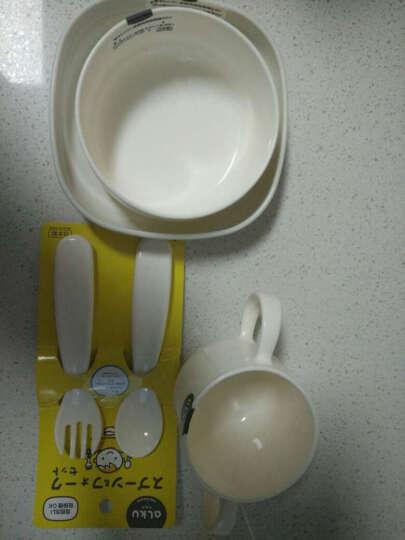INOMATA 日本进口杯子塑料创意儿童水杯牛奶杯咖啡杯优质做工色彩缤纷 白色 晒单图