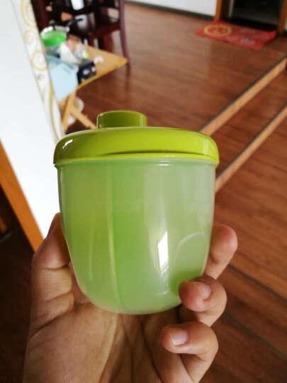 贝亲(Pigeon) 便携两用奶粉盒 户外奶粉盒子三隔层 CA10清新绿 晒单图