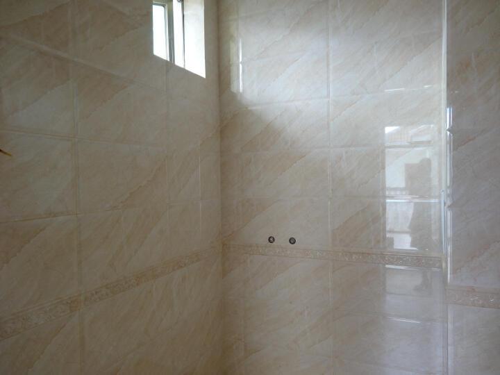 【青橙瓷砖】卫生间瓷砖300x600墙砖 厨卫砖 厨房瓷片 浴室洗手间墙面砖 防滑地砖 600*80mm腰线 晒单图