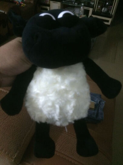 海利伟(Honeyway) 海利伟 提米羊毛绒玩具卡通玩偶动物公仔英国小小羊提米送儿童礼物 小猪 派格斯通 30cm 晒单图